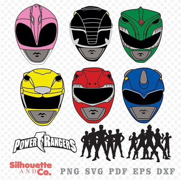 Power ranger clipart for boys image free Power Rangers SVG, DXF, Power Rangers Clipart, Power Rangers ... image free