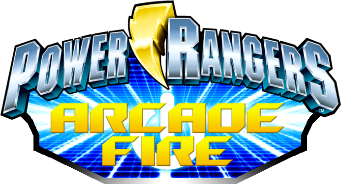 Power rangers logo png clipart free Image - Power Rangers Arcade Fire logo.png | Power Rangers Fanon ... free