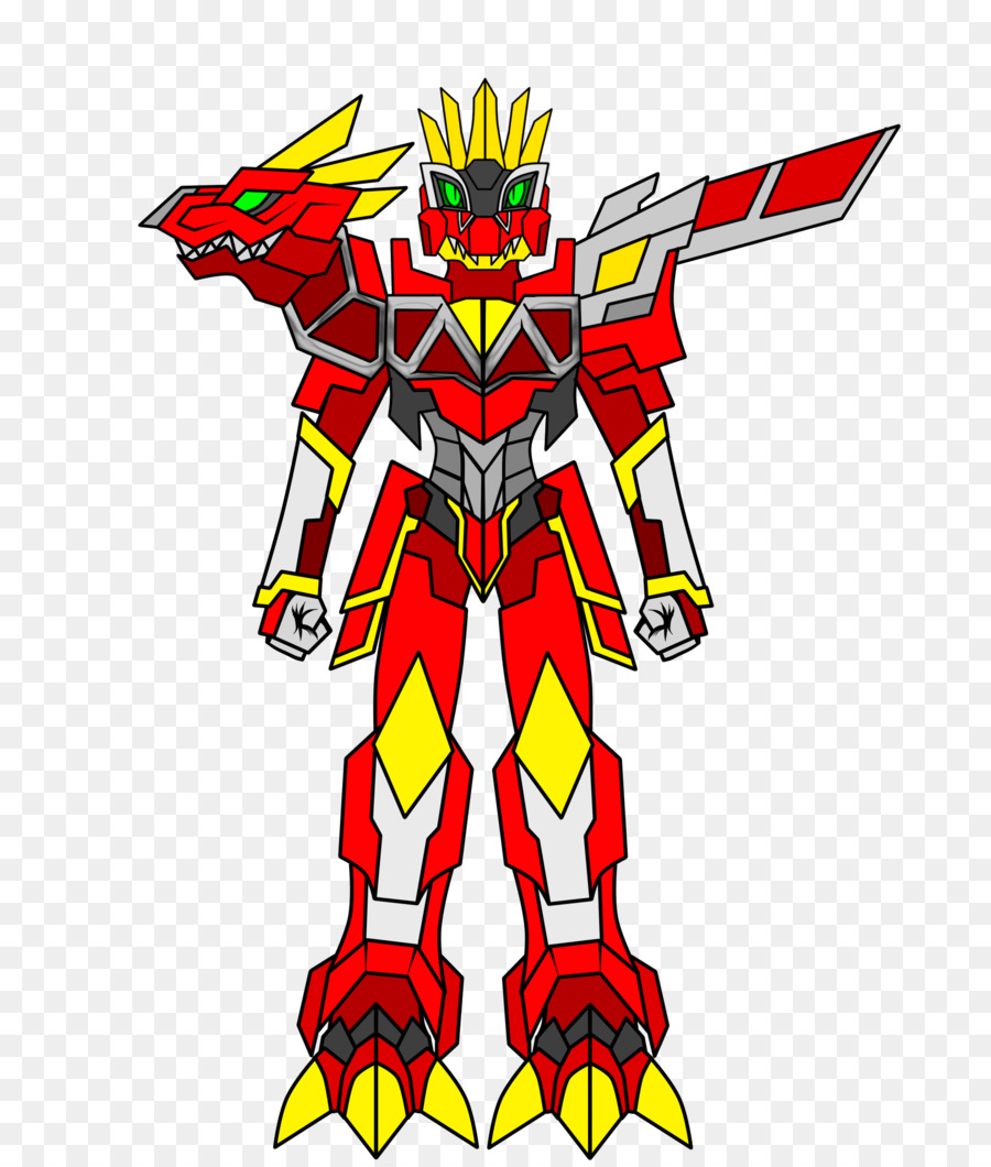 Power rangers zords clipart vector transparent Download anthro zord clipart Red Ranger Zords in Mighty ... vector transparent