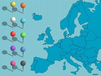 Powerpoint clip art europe map graphic freeuse Free powerpoint maps – uk and europe graphic freeuse