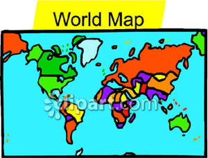 Powerpoint clip art map image library library World Map Clip Art Powerpoint Free | Clipart Panda - Free Clipart ... image library library
