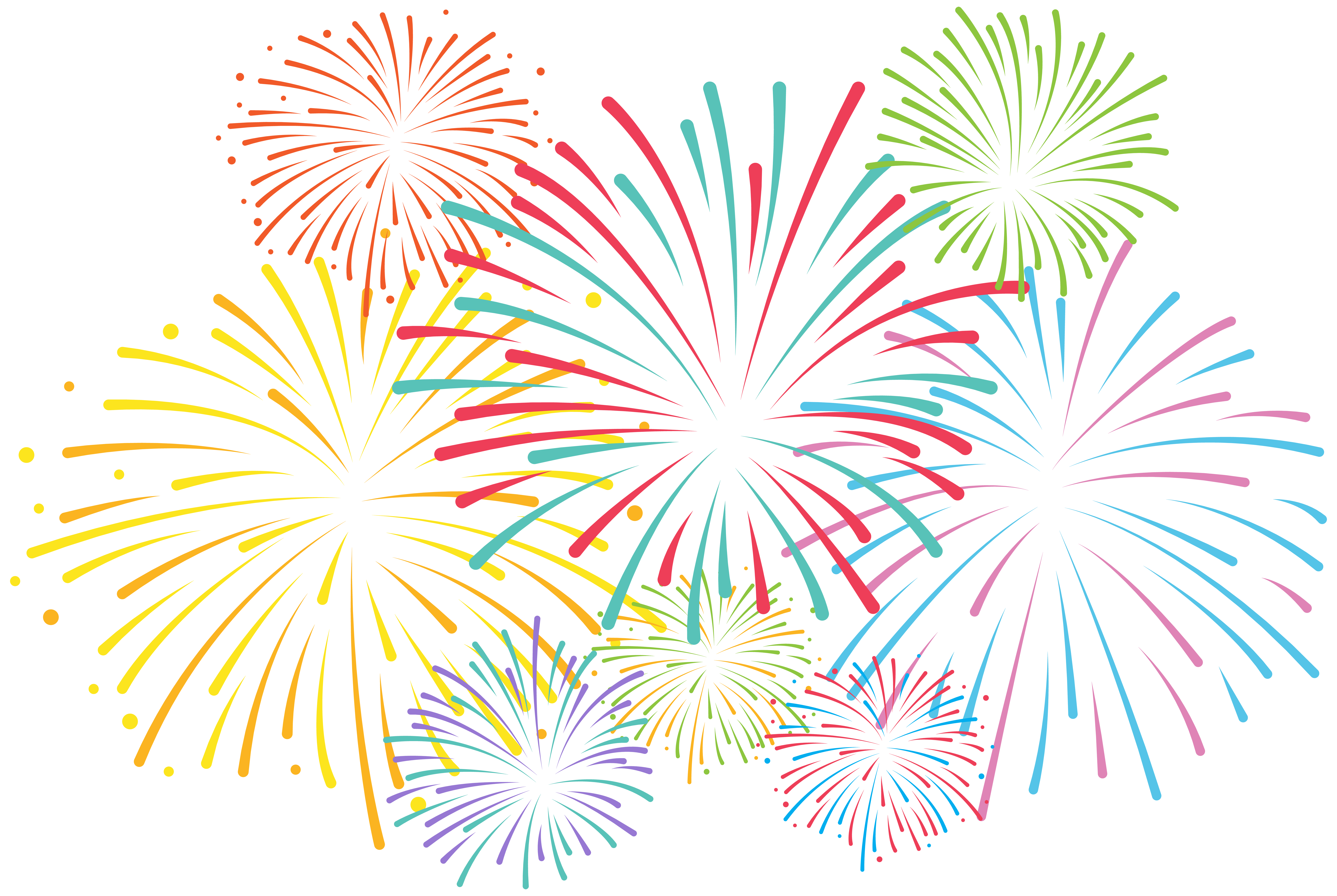 Firework star clipart. Fireworks animated animation in
