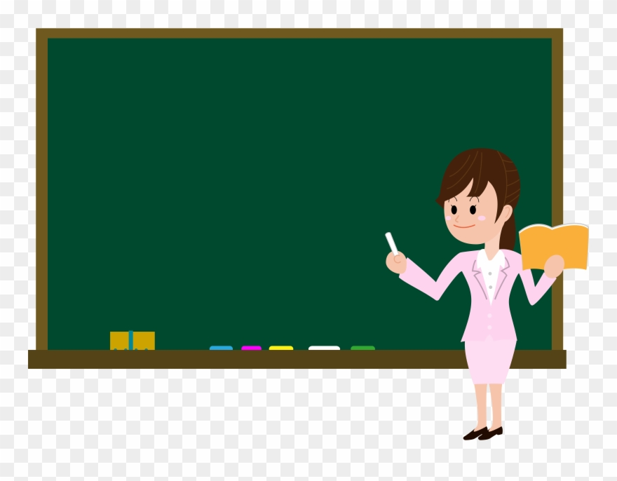 Powerpoint cliparts teacher vector download Chalkboard Clip Powerpoint Theme Image Royalty Free - Black ... vector download