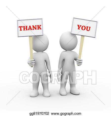 Ppt 3d cliparts blank board clip library download Clip Art - 3d people holding sign board banner thank you ... clip library download