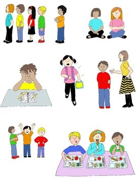 Pragmatics clipart clip transparent download Kids in Action: Social Skills and Pragmatic Language Visuals ... clip transparent download