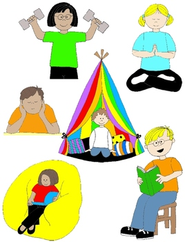Pragmatics clipart graphic free Kids in Action: Social Skills and Pragmatic Language Visuals 3 Clip Art 48  PNGs graphic free