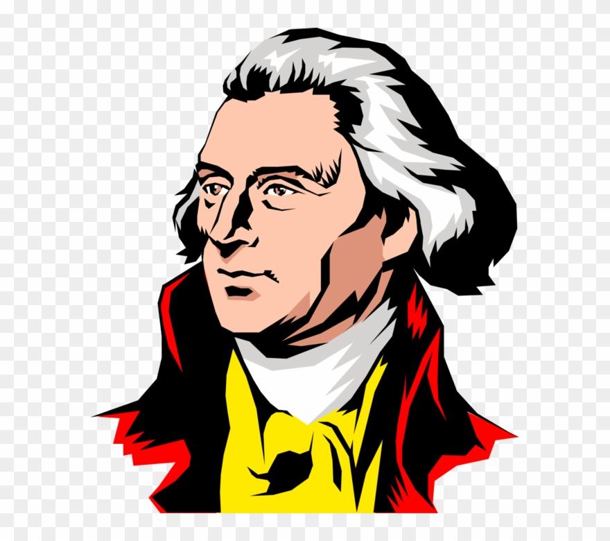 Prarphrasing clipart clip art transparent Vector Illustration Of Founding Father Thomas Jefferson ... clip art transparent