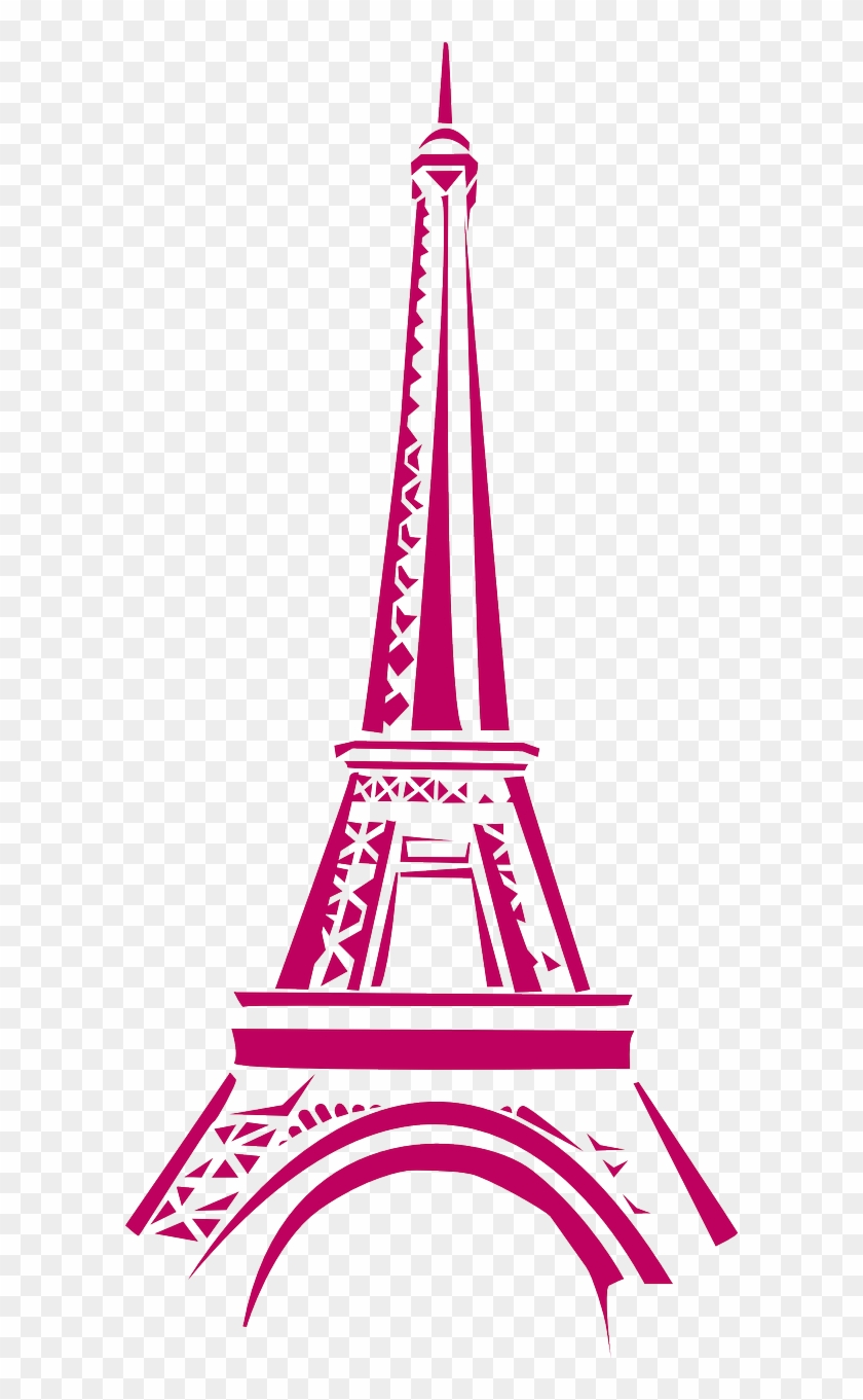 Pray for paris clipart banner black and white stock Eiffel Tower Eiffel Tower Paris Png Image - Eiffel Tower ... banner black and white stock