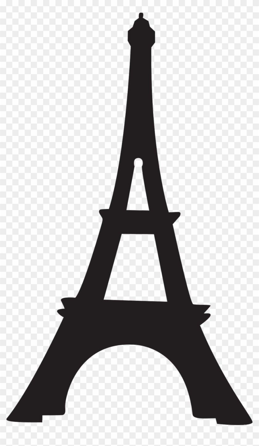 Pray for paris clipart image black and white stock Paris Clipart Transparent Background - Eiffel Tower ... image black and white stock