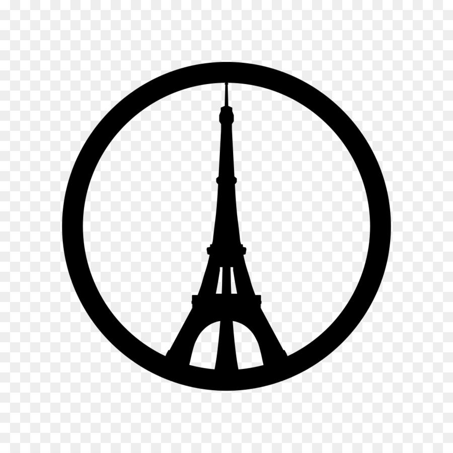 Pray for paris clipart png library stock Circle Silhouette png download - 1024*1024 - Free ... png library stock