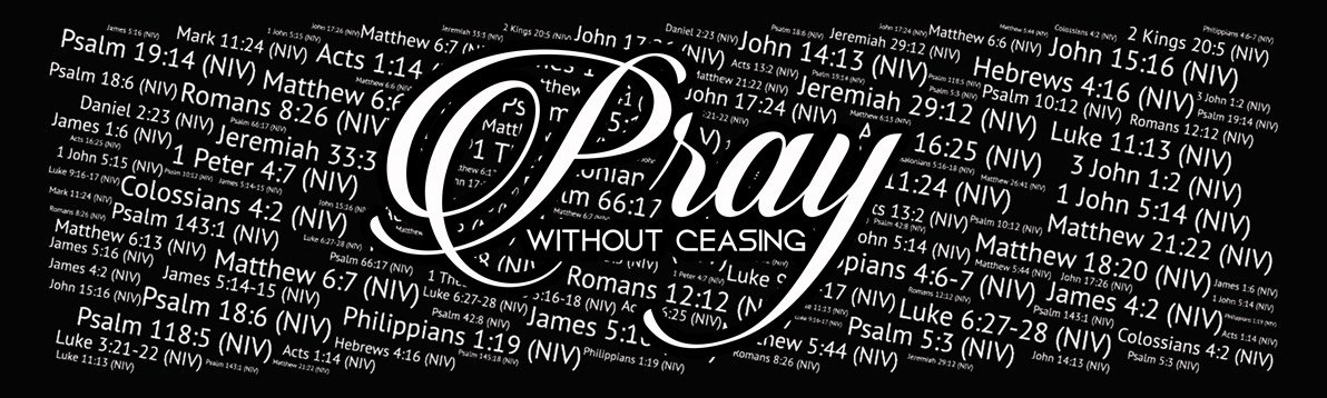 Pray without ceasing black and white clipart clipart library A Look at Prayer clipart library
