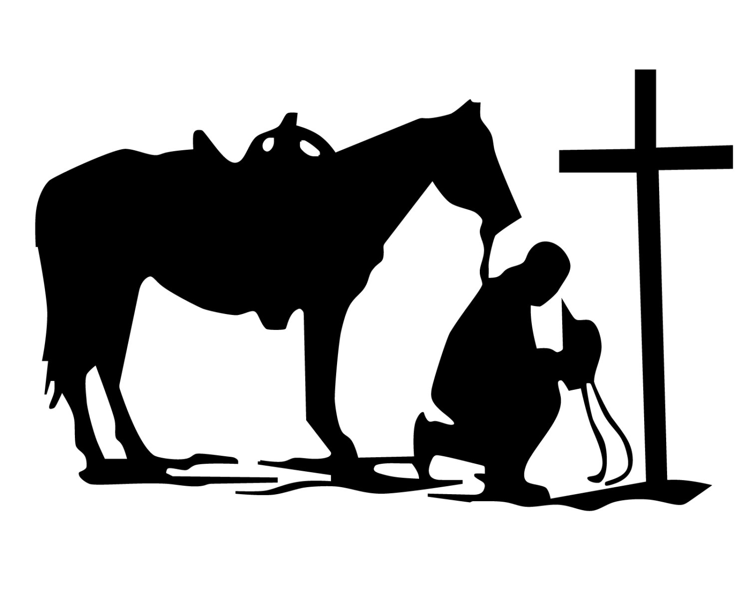 Praying cowboy silhouette clipart png free stock Free Christian Cowboy Cliparts, Download Free Clip Art, Free ... png free stock