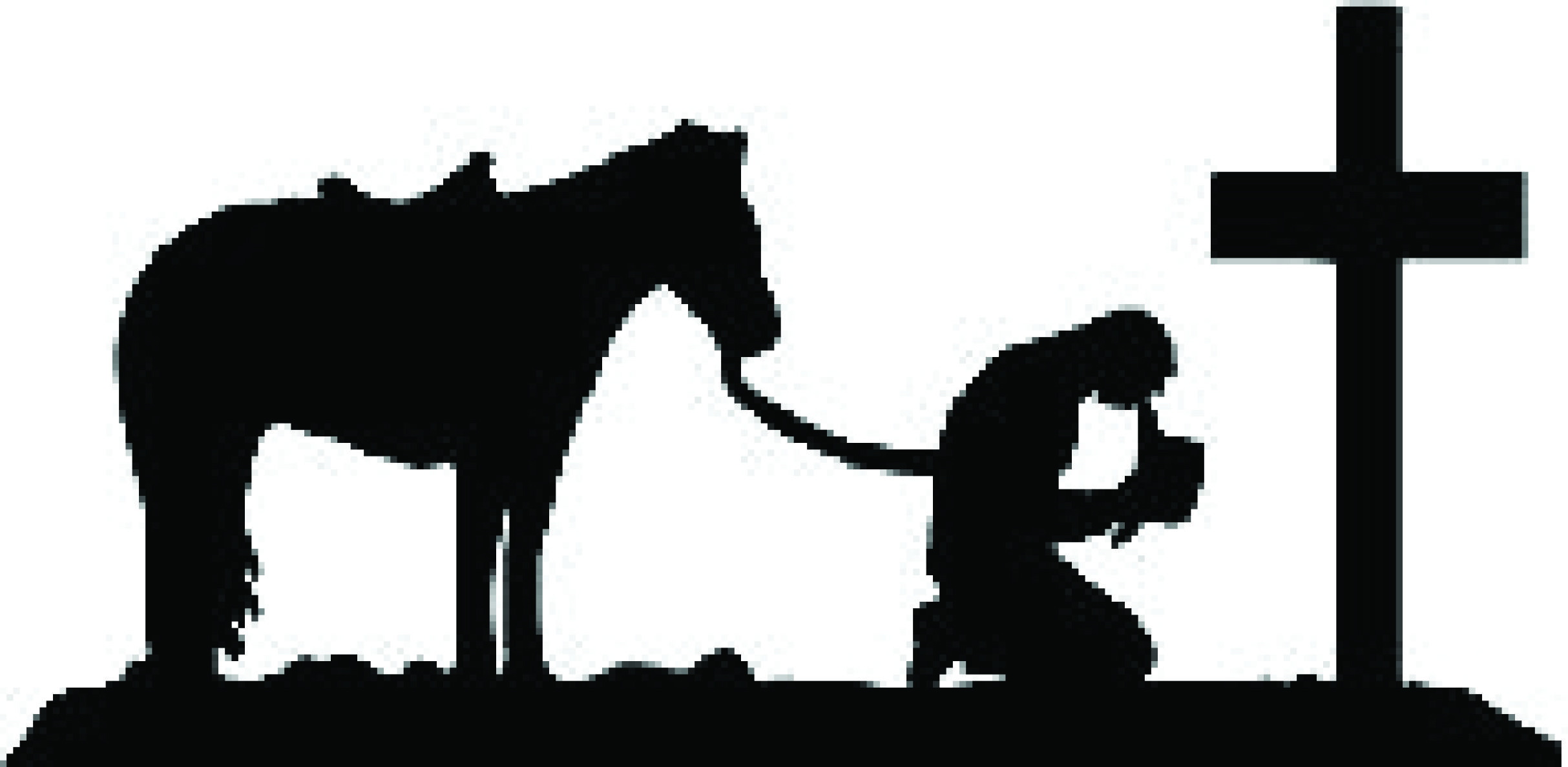 Praying cowboy silhouette clipart picture royalty free stock Praying cowboy clipart   cricut   Clip art, Bing images ... picture royalty free stock
