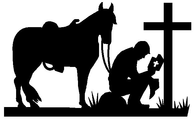 Praying cowboy silhouette clipart banner stock Free Christian Cowboy Cliparts, Download Free Clip Art, Free ... banner stock