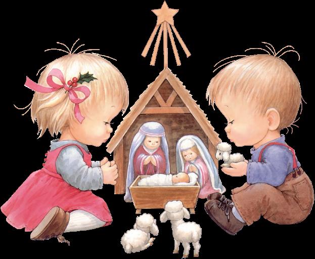 Precious moments christmas clipart