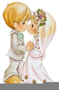 Precious moments wedding cliparts image freeuse Precious Moment Wedding Clipart | Free Images at Clker.com ... image freeuse