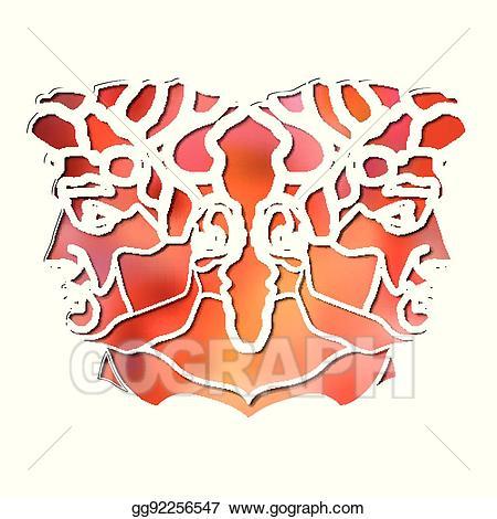Predestination clipart freeuse download Vector Stock - Bright twins portrait, zodiac gemini sign ... freeuse download