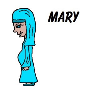 Pregnant mary jesus mom clipart image library library Annunciation Clipart - Cliparts Zone image library library