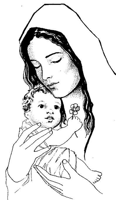 Pregnant mary jesus mom clipart clip freeuse library Mother mary with baby jesus clipart - ClipartFox clip freeuse library