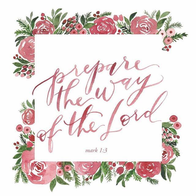 Prepare the way of the lord clipart clip freeuse stock Flesh, Feast, and Feeling Worthy | blessed is she devotions ... clip freeuse stock