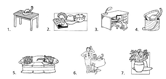 Prepositions of place clipart black and white image freeuse download 右昌國中二年級彈性課程【英文寫作】 image freeuse download