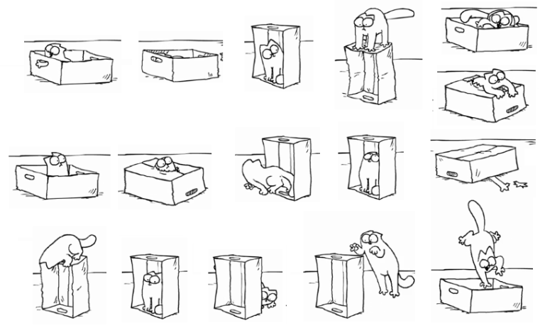 Prepositions of place clipart black and white clipart free library Prepositions of place – Teacher Clara clipart free library