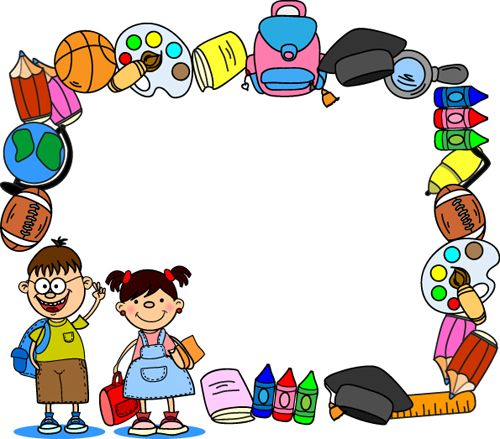 Preschool borders clip art vector transparent library 17 Best images about Stationary-Printable-Preschool on Pinterest ... vector transparent library