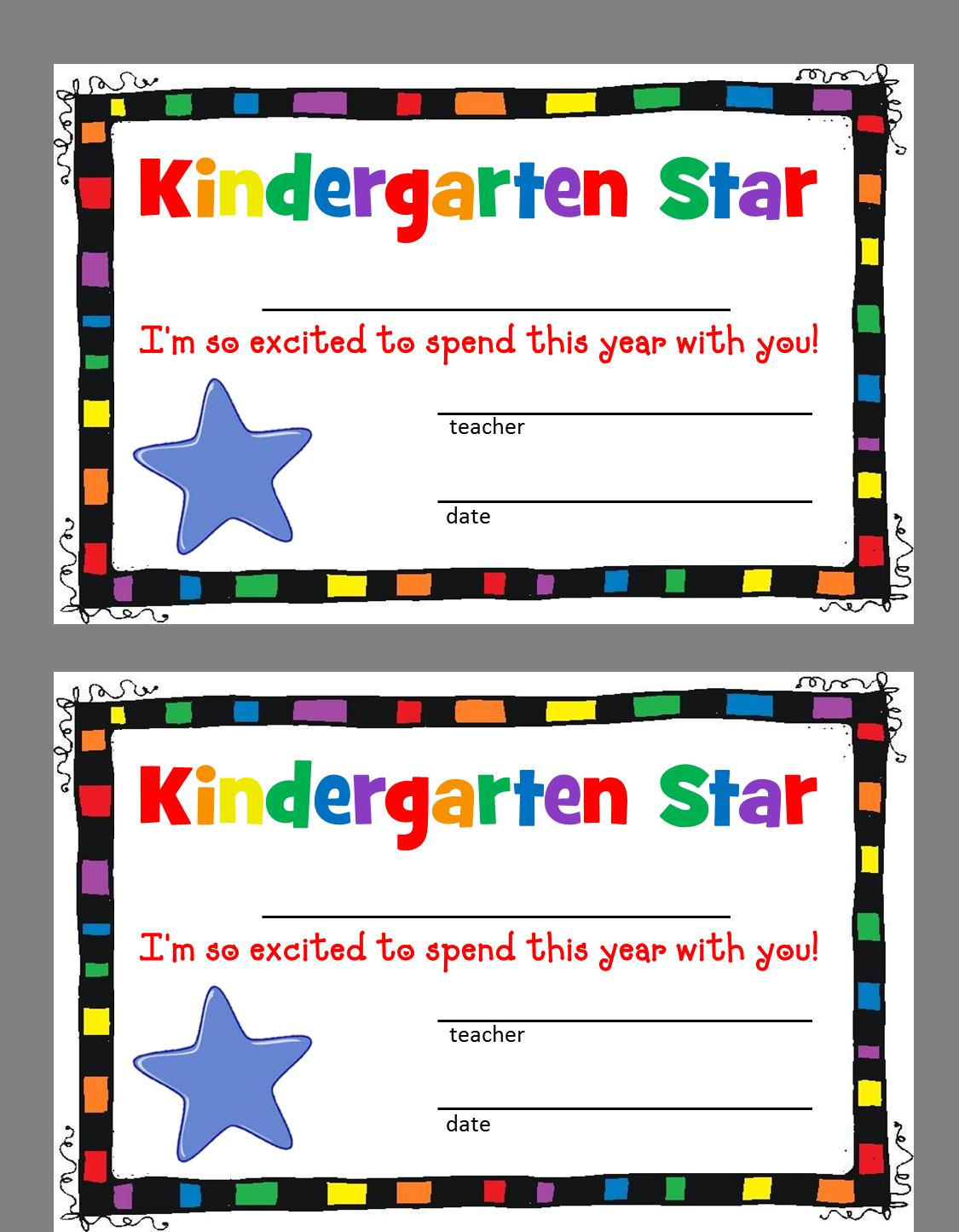 Preschool star clipart jpg royalty free library Free Printable Preschool Borders | Clipart Panda - Free Clipart Images jpg royalty free library