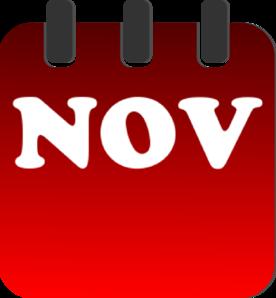 Preschool calendar november clipart clipart black and white library November Clipart   Free Download Clip Art   Free Clip Art   on ... clipart black and white library