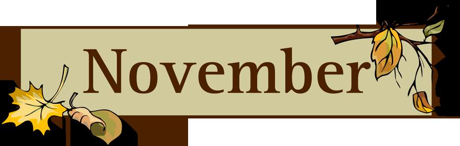 Preschool calendar november clipart png freeuse November Clipart   Free Download Clip Art   Free Clip Art   on ... png freeuse