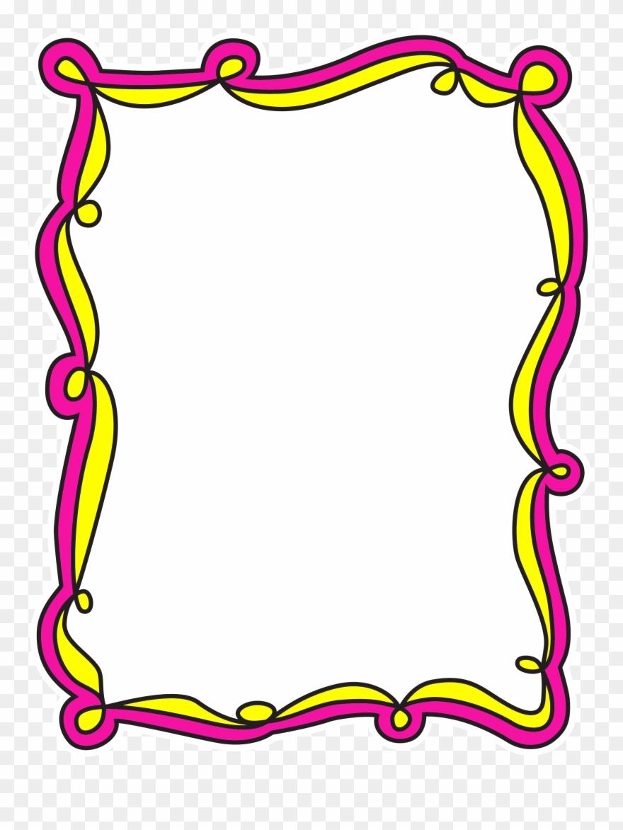 Preschool corner border clipart vector freeuse library Border Frame - Preschool Border Clipart - Png Download ... vector freeuse library