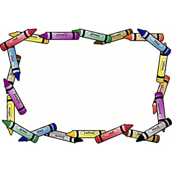 Preschool corner border clipart clip art library stock decorative backgrounds for word documents | Top 10 Free ... clip art library stock