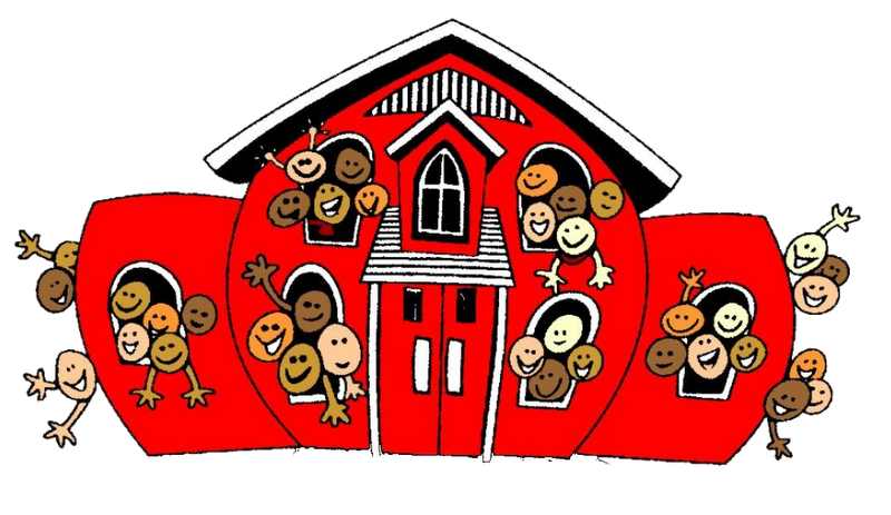 Preschool house clipart clipart free Saint Paul's Lutheran School & Childcare Center clipart free
