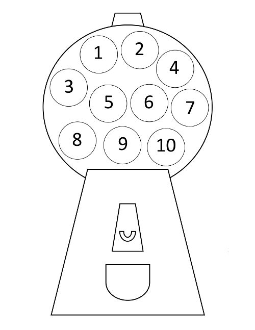 Preschool numbers clipart number 1 with dot banner free library 17 Best images about Counting & Number Recognition on Pinterest ... banner free library