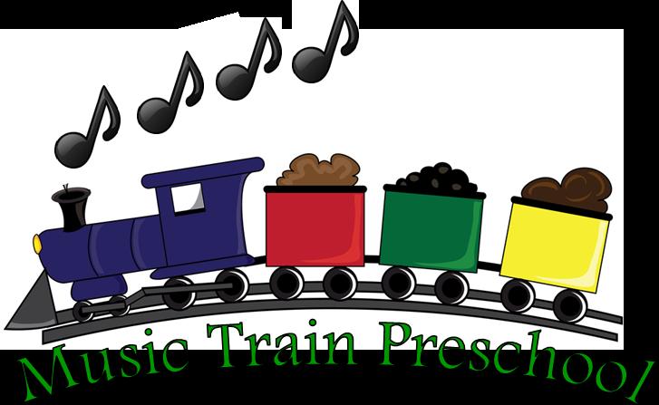 Preschool open house clipart black and white download Music Train Preschool black and white download