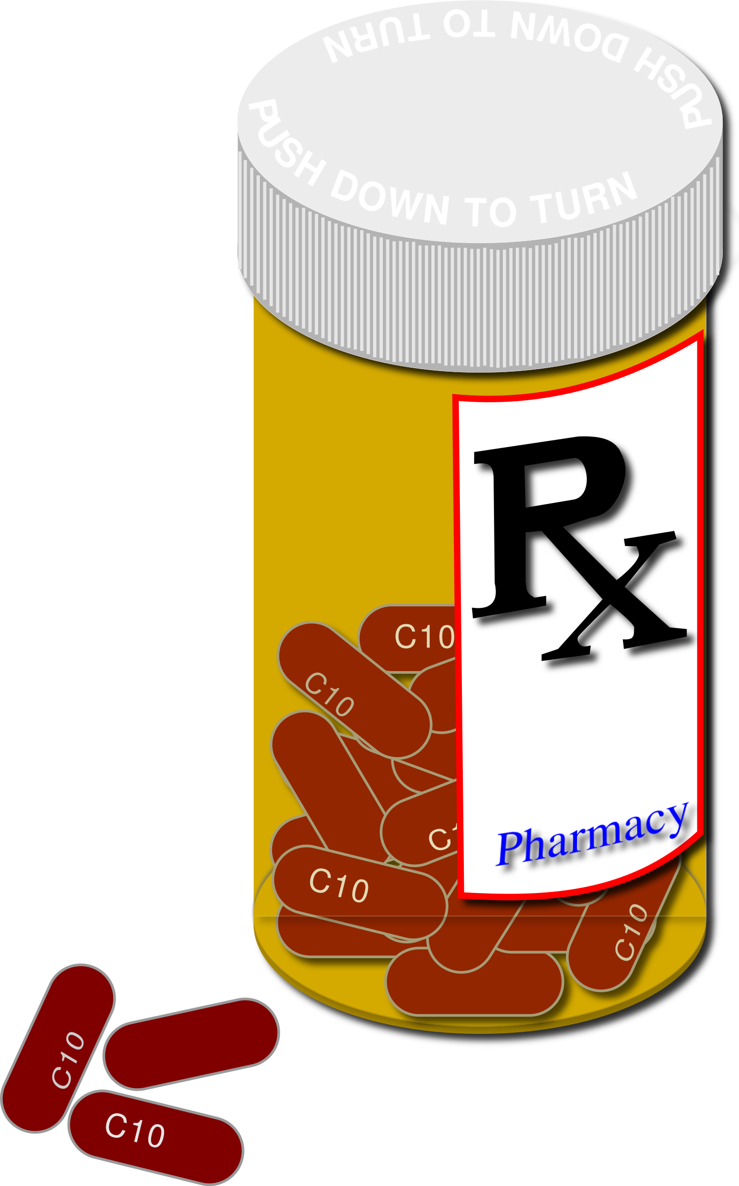 Prescription bottle clipart png freeuse stock Clipart prescription bottle and pills - ClipartBarn png freeuse stock