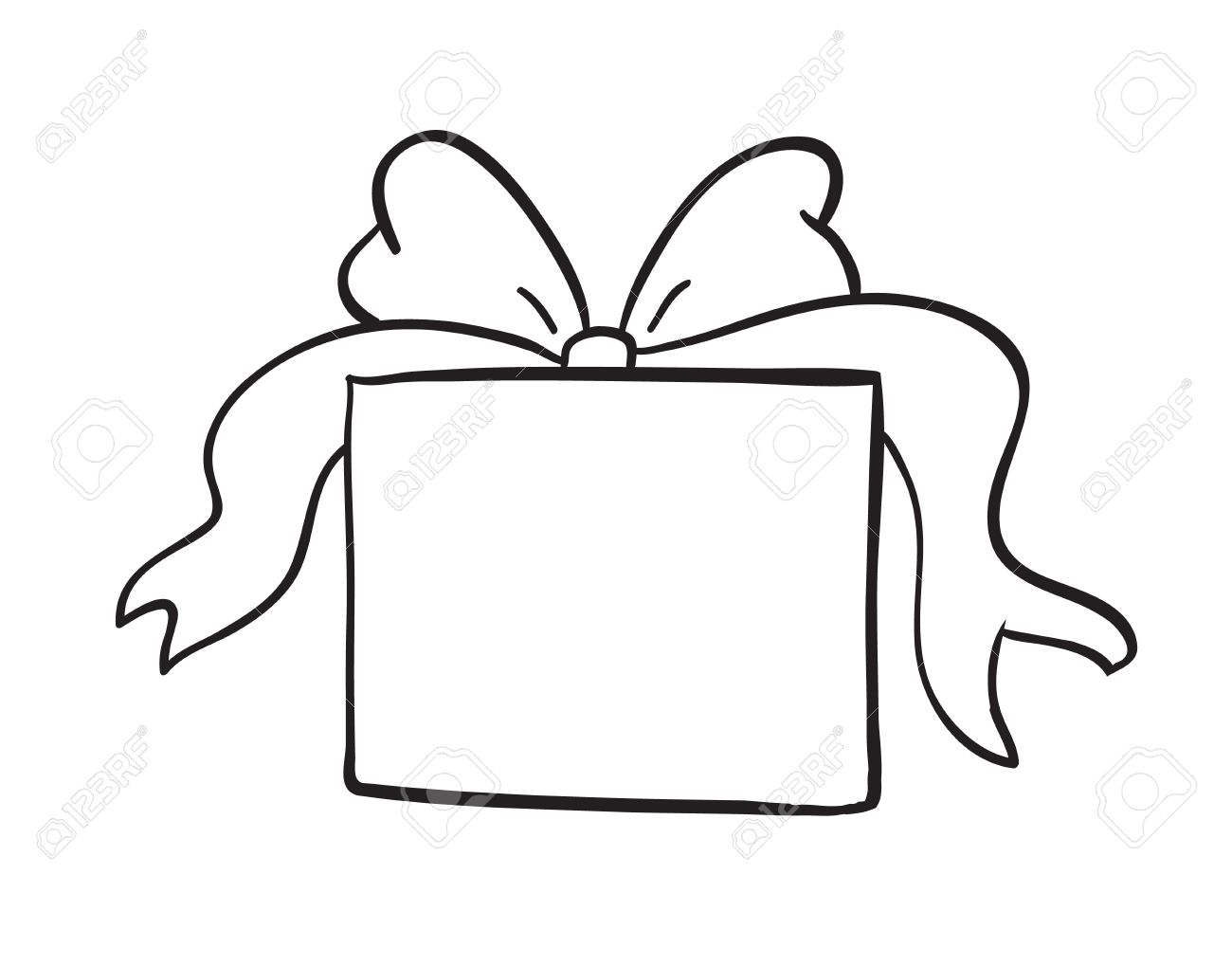 Present clipart outline picture library Present Clipart Outline   Free download best Present Clipart ... picture library