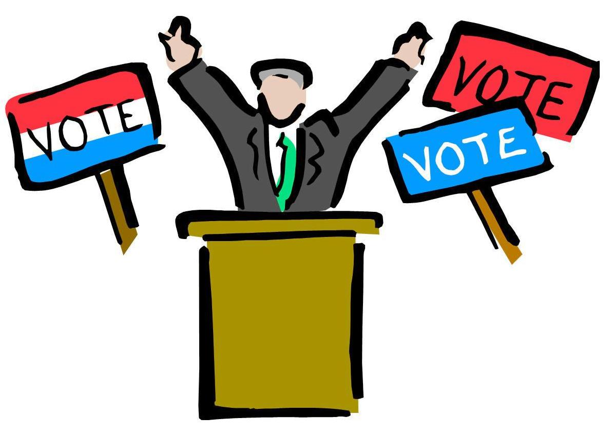 Presidential ballot clipart image free Florey\'s Book Co.: Local Forum: \'The Presidential Candidates ... image free