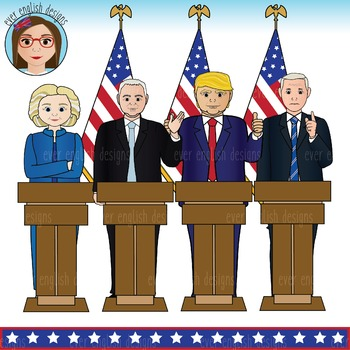 Presidential ballot clipart banner free download Election 2016- USA Presidential Candidates Clip Art banner free download