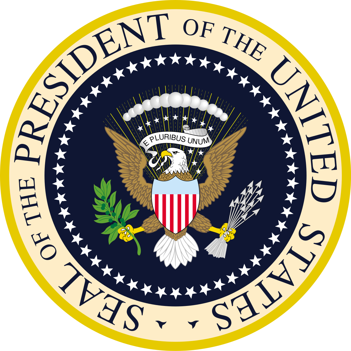Presidents on money clipart png royalty free library Seal of the President of the United States - Wikipedia png royalty free library