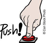 Press button clipart vector black and white library Push button Clipart and Stock Illustrations. 156,627 Push ... vector black and white library