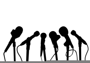Press f clipart download Microphone Press Conference Clipart | Free Images at Clker ... download