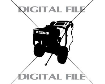 Pressure washer black and white with clipart image black and white stock Pressure Washer Clipart Black And White (88+ images in ... image black and white stock