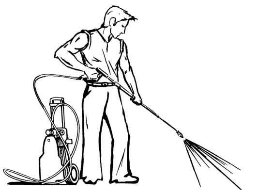 Pressure washer black and white with clipart graphic library download Download pressure washing black and white clipart Pressure ... graphic library download
