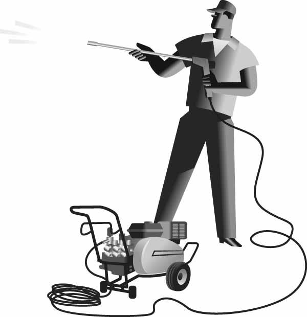 Pressure washer service clipart image black and white stock Pressure Washing Cypress, TX | Tomball Power Washer ... image black and white stock