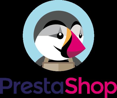 Prestashop logo clipart black and white stock Prestashop Experts - Malttt Agency black and white stock