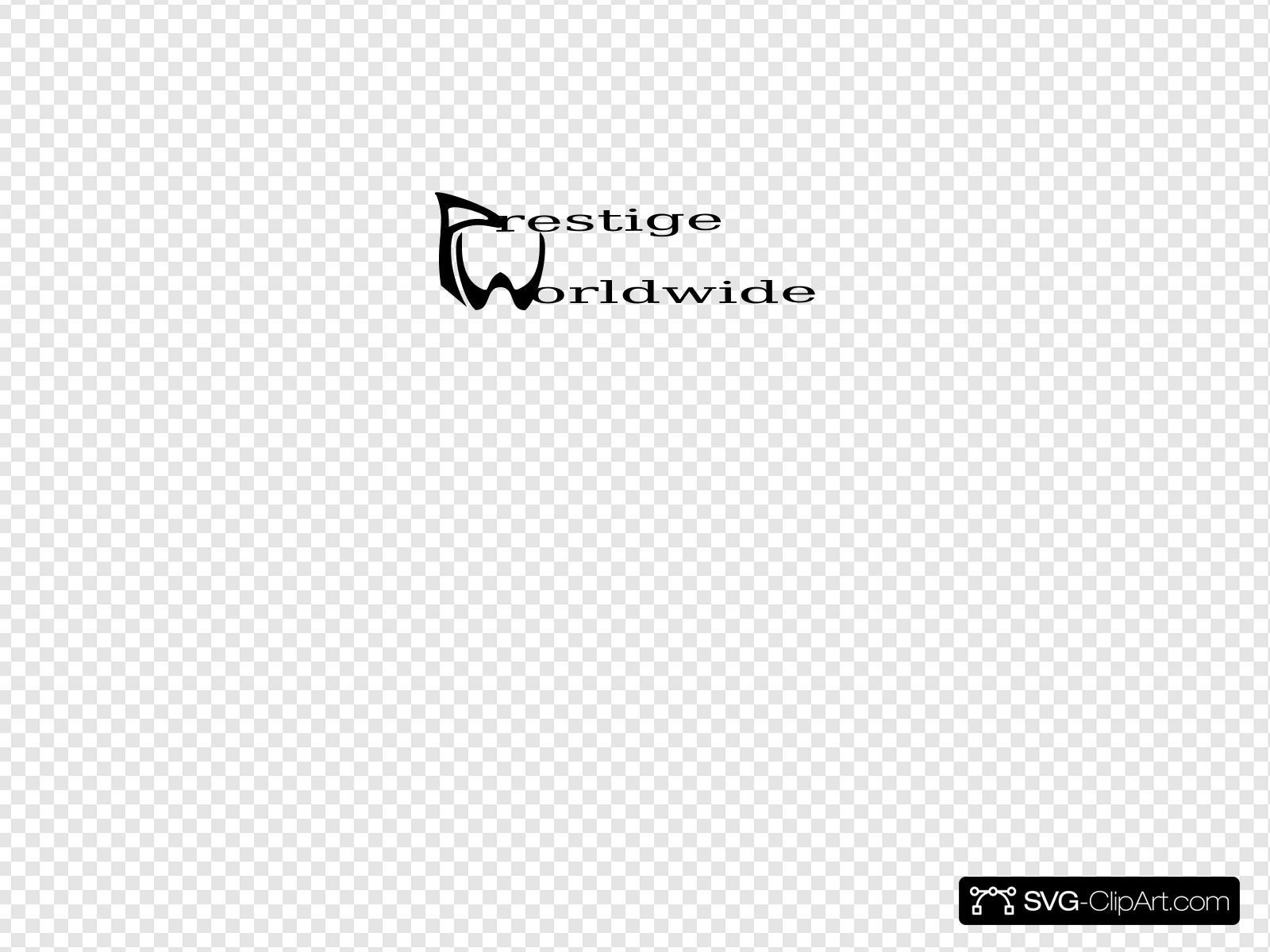 Prestige logo clipart svg royalty free stock Prestige Worldwide Logo Clip art, Icon and SVG - SVG Clipart svg royalty free stock