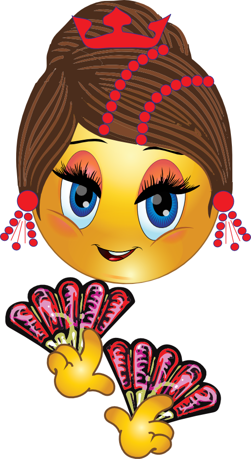 Pretty house clipart banner transparent library Pretty Spanish Girl Smiley Emoticon Clipart | i2Clipart - Royalty ... banner transparent library