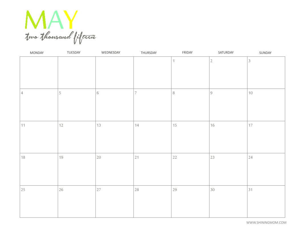 Pretty may 2016 calendar clipart png transparent Images of Cute May - Happy easter day png transparent