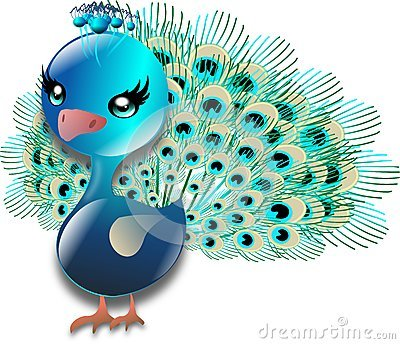 Pretty peacock clipart vector transparent library Cute peacock clipart » Clipart Portal vector transparent library